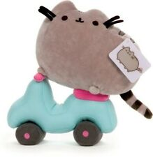B&N Exclusive Scooter Pusheen Plush 9.5in Rare Discontinued