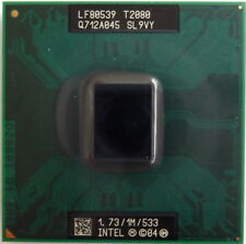 Procesador CPU Intel Pentium T2000 SL9VY 1.73Ghz 1M 533Mhz