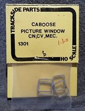 Trackside Parts 1301 CABOOSE PICTURE WINDOW Frames CN CV CP GT MEC Modern 4-pc