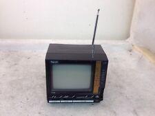 "Vintage 1986 Rhapsody 4.5"" Black & White Portable TV-Model TV-628-Collectible!"