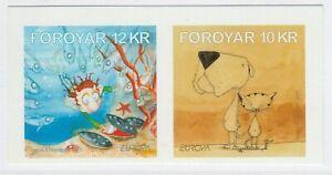 Faroe Islands 2010 Europa CEPT Children's Books MNH** Full Set A18P52F235