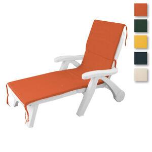 Cuscino per lettino prendisole materassino da esterno Unito 60x190 cm P499