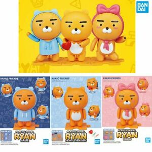 Kakao Friends x Bandai Plastic Model Standing Ryan Figure : Ribbon Hoodie Heart