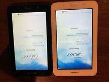 Samsung Galaxy Tab E Lite SM-T113 8GB, Wi-Fi, 7in Lot of 2 Black and White