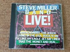 Steve Miller Band - Live! 1988 Capitol Records USA CDP 7 91315 2