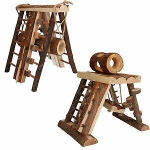 Small Animal Hamster Boredom Breaker Assault Course & Climbing Tower
