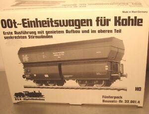 Bochmann & Kochendörfer HO: 32.001.4 OOt Einheitswagen für Kohle   - Neu OVP