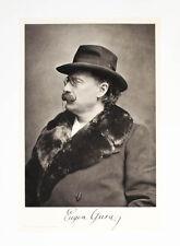 1902 musica Gura Eugen operistici cantanti ritratto heliogravüre