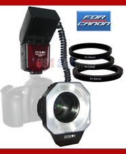 ZEIKOS Macro Ringlight Flash For CANON 5D 10D 20D 30D 40D 300D 350D 400D 450D