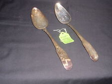 Samuel Neville Made in Dublin Year 1799 Set of Two Vintage