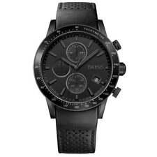 1513456 Hugo Boss Rafale Black Leather Chronograph Men's Watch