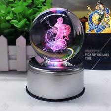 Dragon Ball Z Son Goku 3D LED Big Crystal ball Night Light Table Desk Lamp Gift