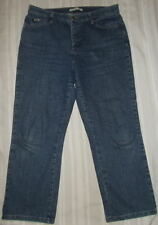 Women's Lee Denim Stretch Relaxed Straight At Waist Jeans 10S Petite