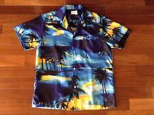 KOLE KOLE, USA, Men's M Hawaiian TROPICAL ALOHA SHIRT, S/S, Island Pattern