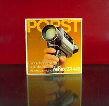 Porst reflex ZR448 Gebrauchsanleitung/Mode d´emploi/Gebruiksaanwijzing - (0901)
