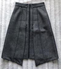 Womens Denim Look Aline Size 6 Cue Skirt