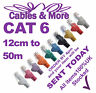 Ethernet CAT6 Network Cable Fast RJ45 LAN Patch 12cm to 50m LOT