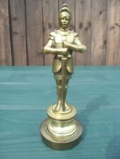 Edwardian Collectable Brass Figurines/Statues