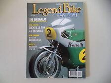 LEGEND BIKE 9/1995 SERTUM 250 VT/GILERA GIUBILEO 125/TRIUMPH TYPE R/BENELLI 500