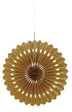 Ventilatore Decorativi Oro Festa Decorazioni, ORO anniversario, compleanni, feste