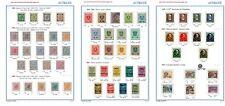 Allbum de timbres de l'Autriche 1850-1960 à imprimer