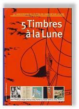Herge Phila BD Tintin 5 Timbres a la Lune