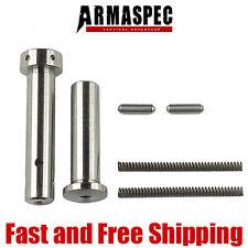 Armaspec Enhanced EZ Install Front and Rear .250 Pins - Titanium (Concave Tip)