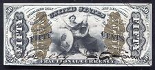 """FR. 1356 50 CENTS THIRD ISSUE """"JUSTICE"""" RED BACK FRACTIONAL UNCIRCULATED"""