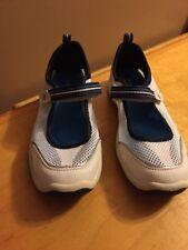 Land Ends Women Shoe 400589 Mary Jane White Size 6.5