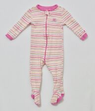 The Children's Place Butterfly Striped Dotted Footed Pajama Sleeper, 12 mos.