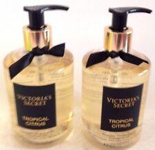 2 Victoria's Secret Fragrant Hand & Body Cleansing Shower Gel Tropical Citrus