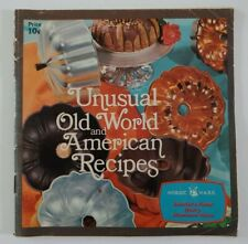 Vintage Recipe Booklet Unusual Old World and American Recipes Nordic Ware Ad