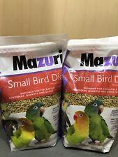 New listing 2 X Bags of Mazuri Small Bird Diet Food, 2.5 lbs