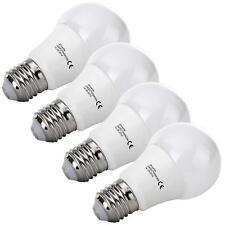 4x LED BIRNE E27 LAMPE LICHT 6W WARMWEISS 3000K GLÜHBIRNE BULB LEUCHTMITTEL SET