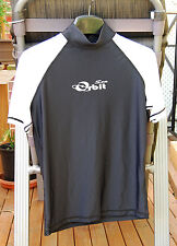 Adult Rashes Top Lycra Top Rashes, Black/White, Size available S, L and XL
