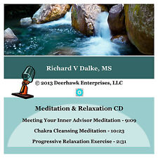 Meditation Relaxation CD with healing music
