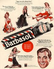 "Vintage Barbasol Ad Photo Print 14 x 11"""