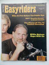 Easyriders December 1979,Willie Nelson Raps,Jackrabbit Quick Shovel,Biker Art