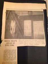 k2-2  ephemera 1971 Article Trencreek Newquay Show Home Graham Talling