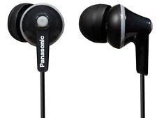 BRAND NEW Panasonic RP-HJE125-K ErgoFit In-Ear Earbuds - BLACK