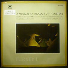 ! LP A MUSICAL ANTHOLOGY OF THE ORIENT - Turkey I 1, Mevlevi, Unesco Collection