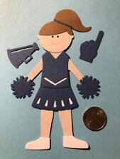 1 Cheerleader Premade PAPER Die Cuts / Scrapbook & Card Making