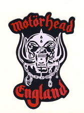 Motorhead Rock Music Badges, Patches & Stickers