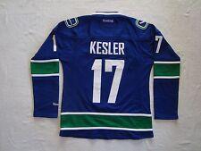 Vancouver Canucks Blue KESLER #17 Women's Premier NHL Reebok Jersey NEW Size M