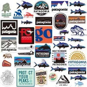 Patagonia Sticker Pack of 40pcs | Laptop Mac Sticker Vintage Camping Logo