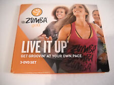 Zumba Live It Up 3 DVD Set