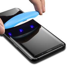 "Protector Pantalla Cristal Full Glue UV Kit Lampara Samsung Galaxy S10 Plus 6.4"""