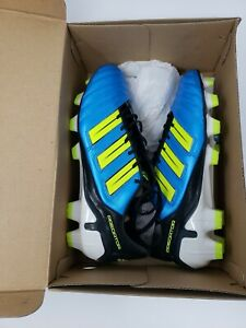 Adidas Adipower Predator TRX FG Soccer Cleats BLUE G40967 Size 8 NEW IN BOX