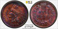 1906 1C  INDIAN HEAD CENT PCGS UNC DETAILS #40276498  FANTASTIC TONING!