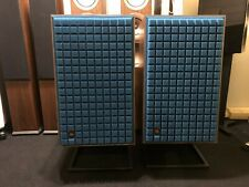JBL L100 Classic Speakers with Stands, Pair, Blue Grill, Ex-Demo